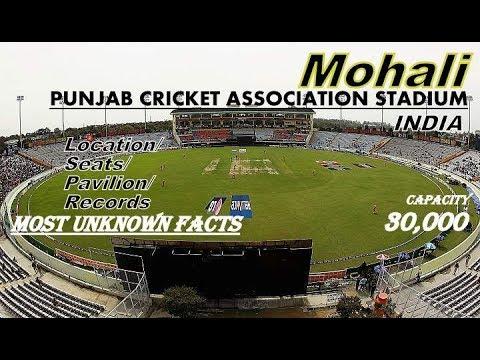 Punjab Cricket Association Stadium/Mohali/Chandigarh/India II Location/Seat/Records...Unknown Facts.