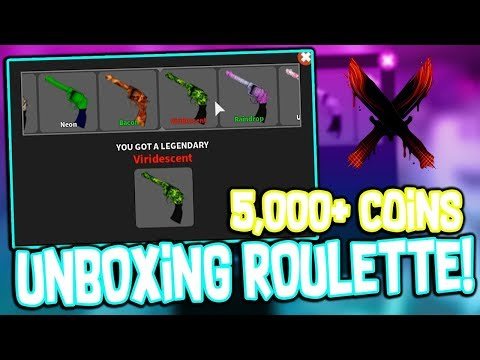 UNBOXING ROULETTE IN ROBLOX MMX!!! (2 LEGENDARIES OPENED)