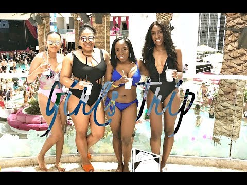 GIRLS TRIP VLOG | WHAT HAPPENS IN VEGAS? - STAYING AT THE VENETIAN! | Style With Substance