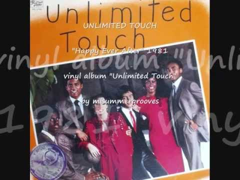 """UNLIMITED TOUCH. """"Happy Ever After"""". 1981. vinyl album """"Unlimited Touch""""."""