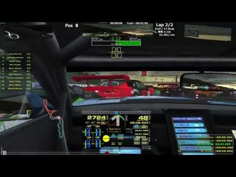 rFactor2 DX11 SimHub test (Dash Studio overlays)