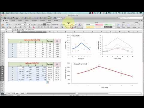 normalising-data-for-plotting-graphs-in-excel