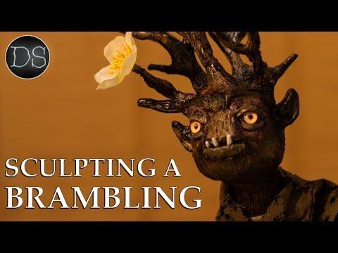 MAKING A BRAMBLING 🌲 | How to Sculpt a Fantasy Creature Head