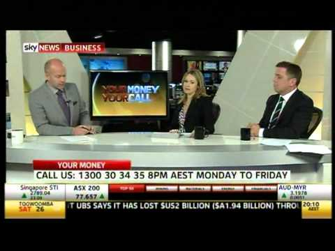Sky News Chris Gray (Your Empire) Ben White (Ray White) Vanessa Wenham (Soul Finance)