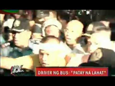 "Rolando Mendoza, Manila Hostage Scene Driver has escaped and shouted ""Patay na lahat"""