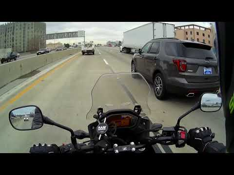 Honda CB500X - San Francisco to Hayward via 880 - 01/04/18