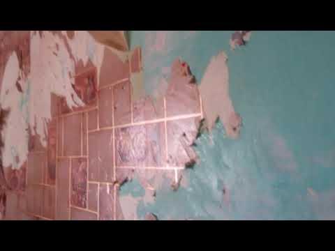 Как легко снять старые моющиеся виниловые обои с окрашеных стен.