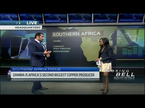 What is causing Zambia's economic stress?