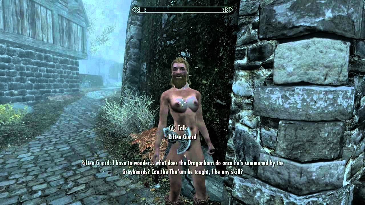Protecter of skyrim the hermaphrodite guardin - YouTube