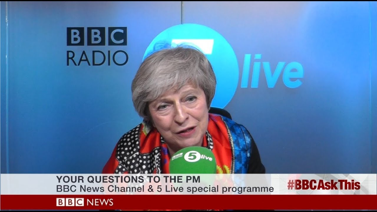 Theresa May - Brexit Deal - BBC 5 Live Public Phone In - 23/11/2018