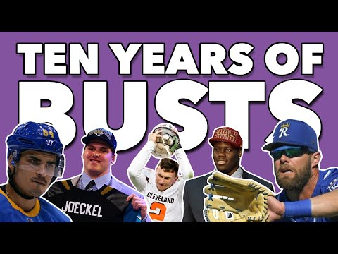 The Biggest DRAFT BUSTS of the Decade