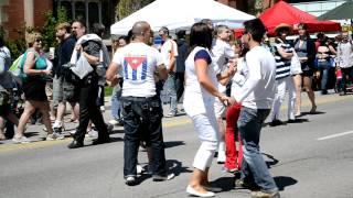 Cuban Dancing at Calgary Lilac Festival May 2011