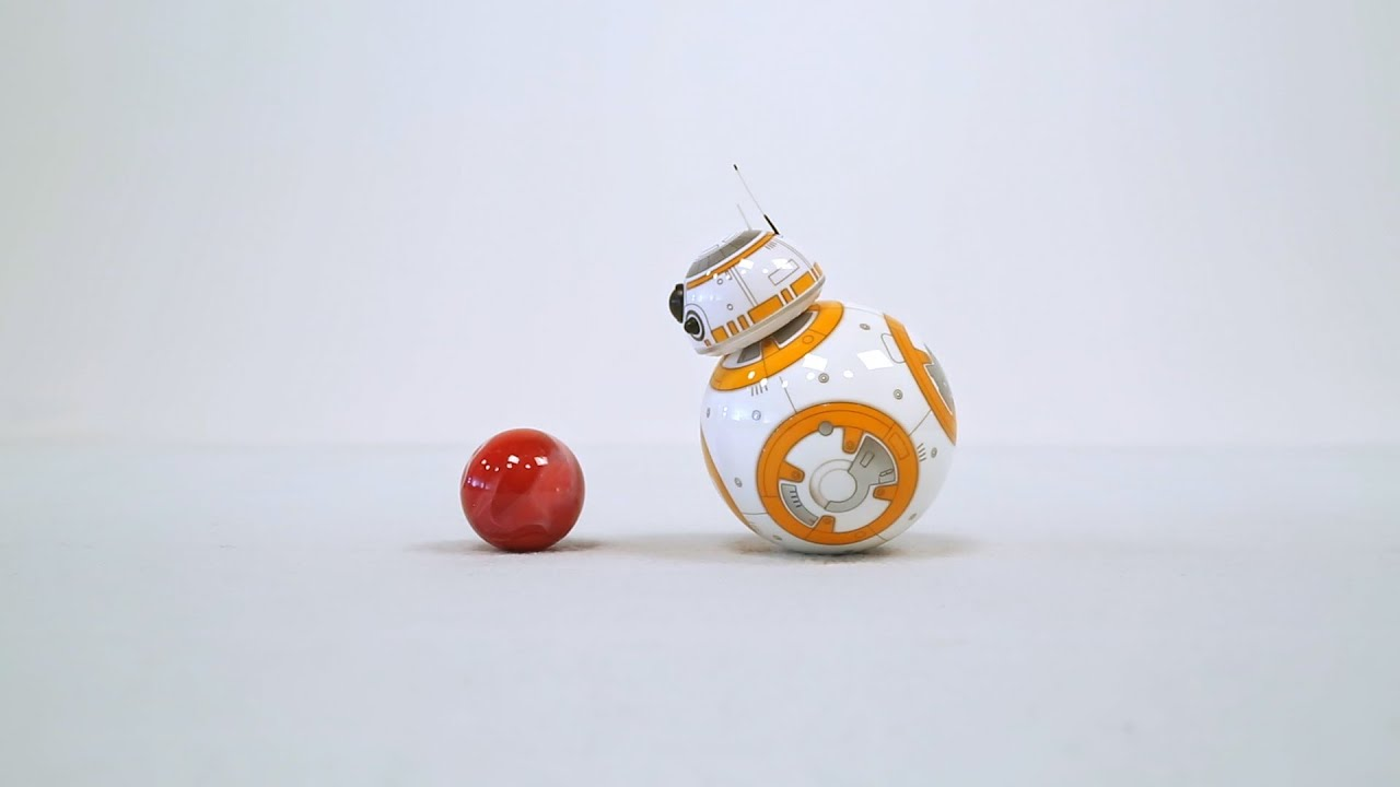 Bb 8 And The Marble Youtube