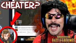 DrDisRespect Reacts to Stream Sniping Drama during PUBG Invitational!