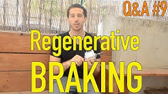 How to do Regenerative Braking on an electric bicycle Q&A#9
