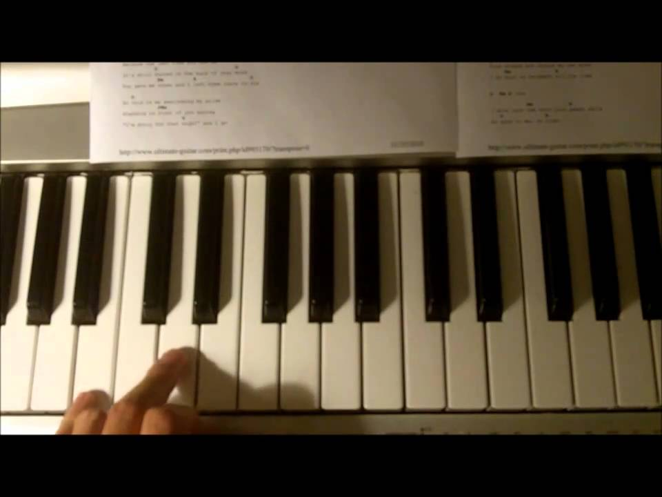 taylor swift back to december piano how to play tutorial cover youtube. Black Bedroom Furniture Sets. Home Design Ideas