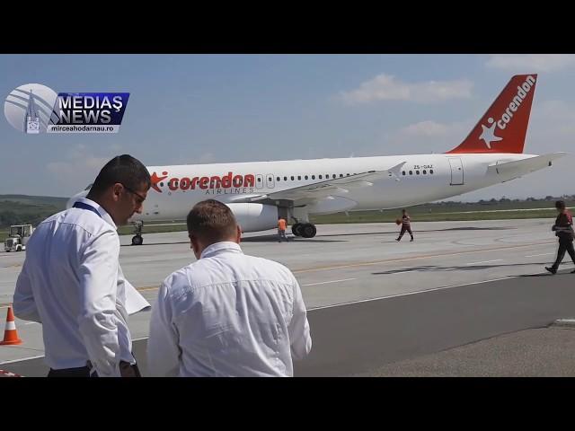 Primul zbor charter Targu Mures – Antalya din acest sezon estival