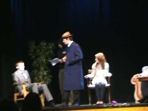 GCSE Drama performance of