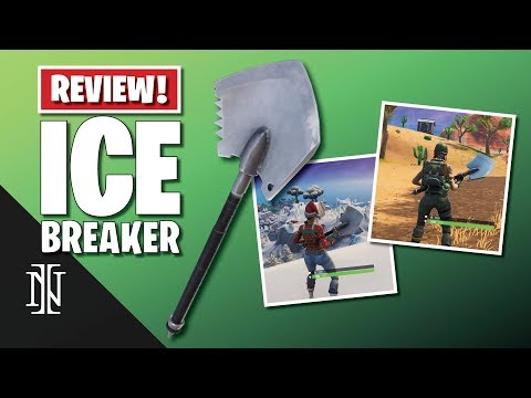 ICE BREAKER Pickaxe Review | BEST COMBOS | Fortnite 2019