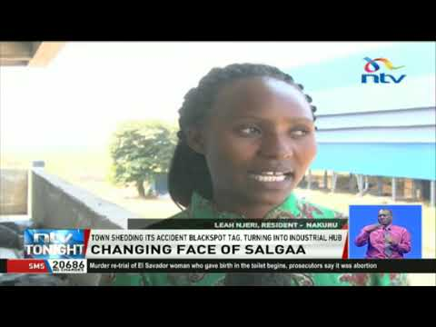 Salgaa Town Sheds Accident Blackspot Tag, Turning Into Industrial Hub