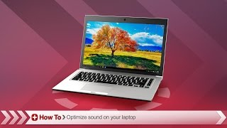 Toshiba How-To: Optimizing sound settings for best performance on your Toshiba laptop