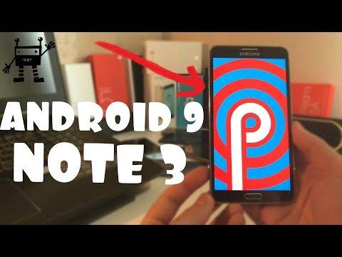 Установил Android 9 на Galaxy Note 3 /ТЫ БУДЕШЬ В ШОКЕ