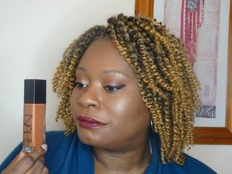 Nars Radiant Longwear Foundation  Wear Test and Review on Very Oily Skin Dark Skin