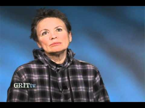 GRITtv: Laurie Anderson: Can Artists Change the World?