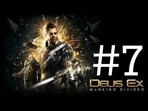 Deus Ex : Mankind Divided Gameplay Walkthrough Part #7 Alex Vega & Golem City PS4 1080p 60fps