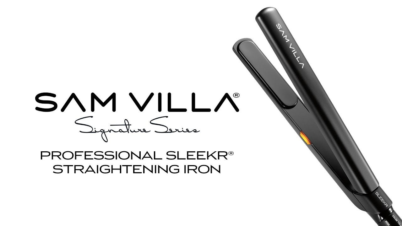 Sam Villa Signature Series Sleekr Professional Straightening Iron