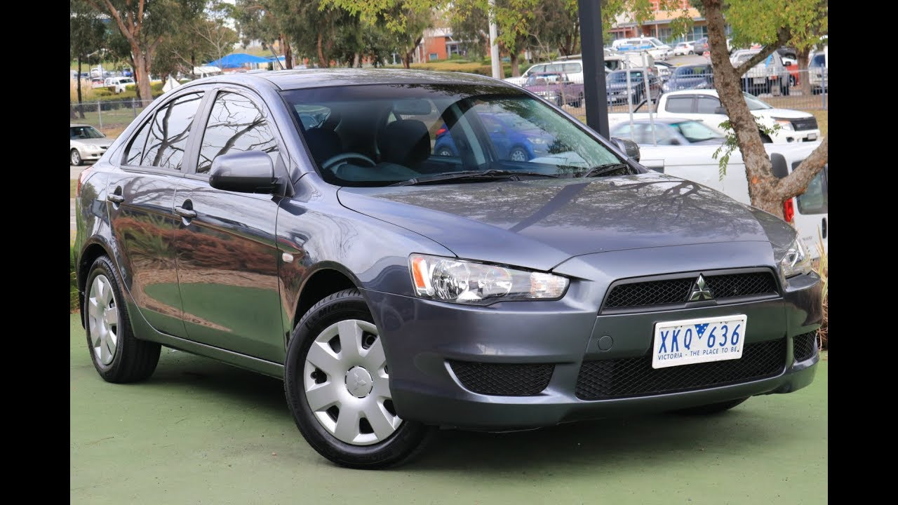 B6758   2010 Mitsubishi Lancer ES CJ Manual Walkaround Video
