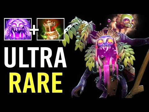 NEW ULTRA RARE IMMORTAL Witch Doctor Vessel +1 Maledict Epic Gameplay iceiceice WTF Dota 2