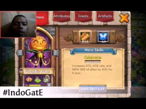 Castle Clash Refresh Talent Flooding Heavy Blow