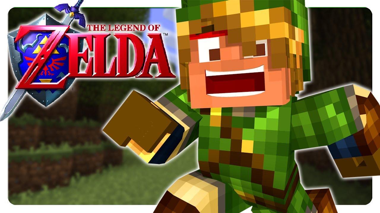 ZELDA Adventure in Minecraft! | Part 1 | Adventure Craft (Zelda ...