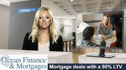 Mortgage deals with a 90% LTV