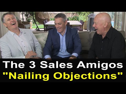Nailing Common Sales Objections - Hughes, McLouglin and Smibert (TALKING SALES 295)