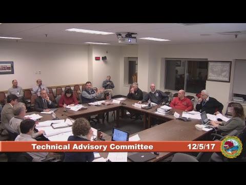 Technical Advisory Committee 12.5.17