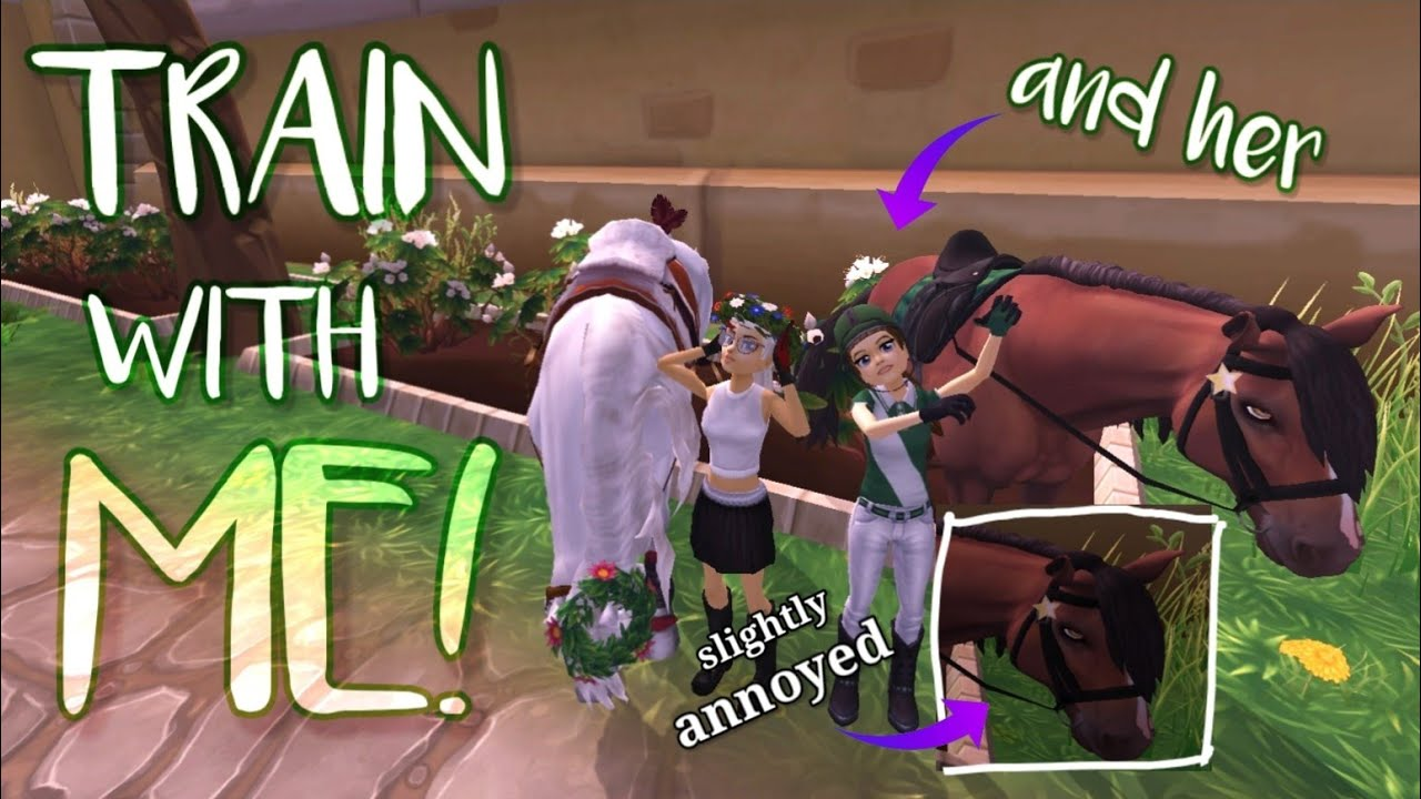 Q&A TRAIN W/H ME & MY BESTIE ON SSO!! *Star Stable*