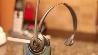 Plantronics CS510 Unboxing, Se…