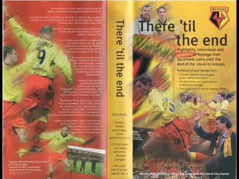 70a73867283 Watford Football Club Season Review 2000-01 (pt. 2 of 2) - YouTube
