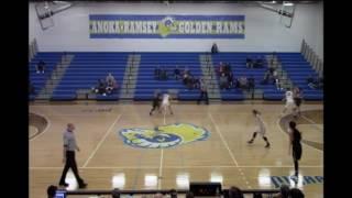 anoka ramsey vs st cloud tech women s basketball 2 15 17