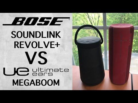 Bose Soundlink Revolve+ Unboxing & Setup + UE Megaboom Comparison