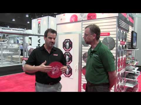 Freud Blade Sharpening Services -  AWFS 2015