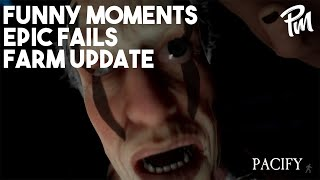 YOU CAN'T OUTRUN EVERYTHING! Funny Moments and Epic Fails - Pacify Farm Update