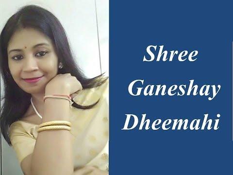 Shree Ganeshay Dheemahi (Female Version)I Ekadantaya Vakratundaya I Shyamalima I Shankar Mahadevan I