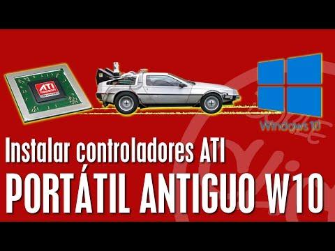 Controladores ATI HD X2300 Para Windows 10-ordenador Antiguo-windows 7-windows 8