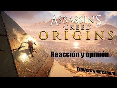 Assassin's Creed Origins tailers   Reacción
