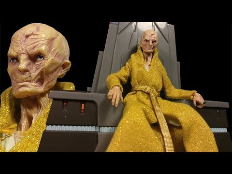 Star Wars The Black Series Supreme Leader Snoke 6-inch Action Figure with Throne  Review