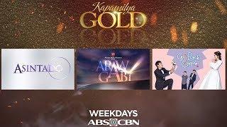 This Week (June 18-22) on ABS-CBN Kapamilya Gold!