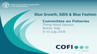 Blue Growth, SIDS and Blue Fashion